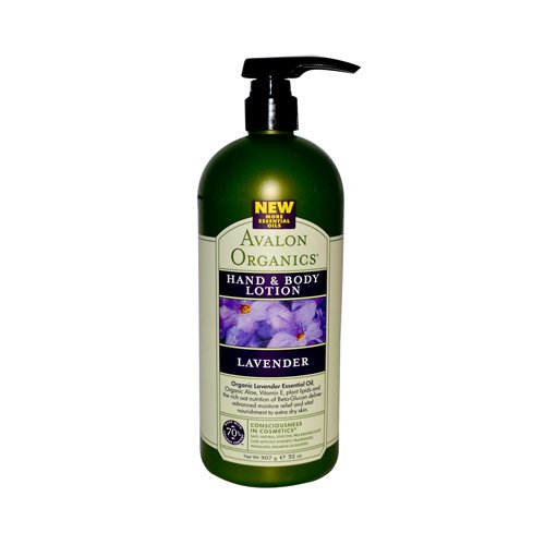 Avalon Organics: Therapeutic Hand & Body Lotion, Lavender 32 oz ( Multi-Pack)