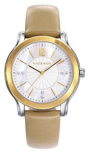 Viceroy Reloj Multiesfera para Mujer de Cuarzo con Correa en Cuero 42248-05