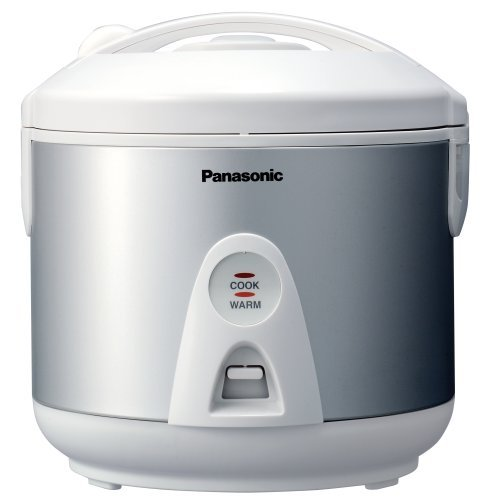 Panasonic SR-TEG10 5-Cup (Uncooked) Rice Cooker/Warmer/Steamer with Domed Lid