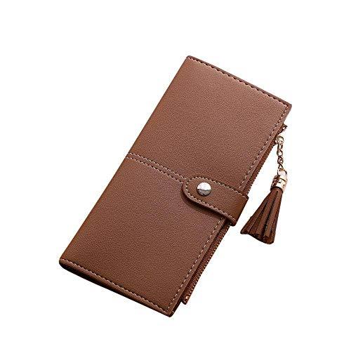 XCWQ Women'S Wallet Leren map voor dames, van hoogwaardig papier, lange levensduur, tas