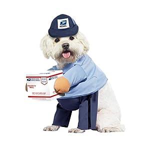 Dog Mail Carrier Costume USPS