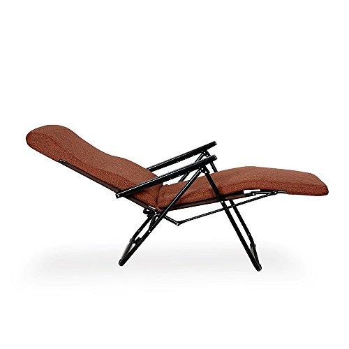 Furlay Teak Recliner Chair (Brown)
