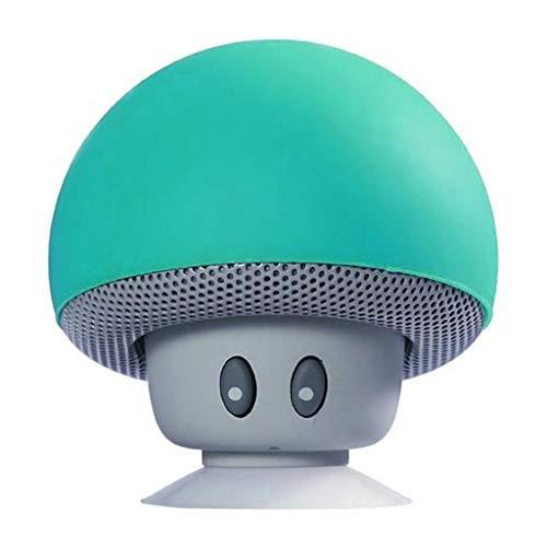 MIK Mini Wireless Bluetooth-Lautsprecher-MP3-Player mit Mikrofon wasserdicht Portable Stereo-Bluetooth-Pilz-Lautsprecher für Telefon PC Z2