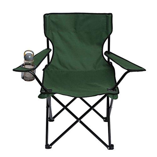 Draagbare vouwstoel, achterverpakking Brede band Mesh Quad Duurzame Outdoor en Indoor Verstelbare Opvouwbare Oxford Stalen Frame Slacker Stoel voor Camping Strandstoel Stoel met Draagtas.