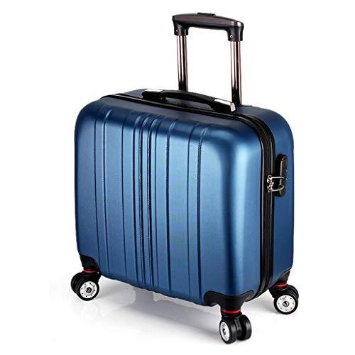YULAN Kleine bagagewagen koffer 16 inch waterdichte boarding hoge capaciteit Universal Wheel Travel Zending wachtwoord Unisex Multicolor 42 * 23 * 36 cm