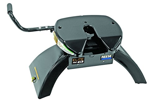 Reese Elite 30143 Fifth Wheel with Slider 25000 lb Load Capacity...