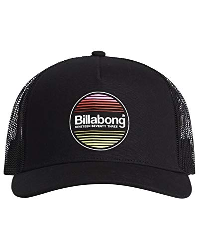 BILLABONG Basecap FLATWALL Trucker Black