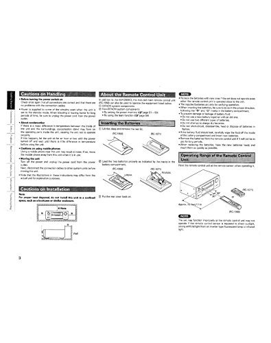 Denon RC-1068 Remote Control Owners Instruction Manual Reprint [Plastic Comb] -  Misc