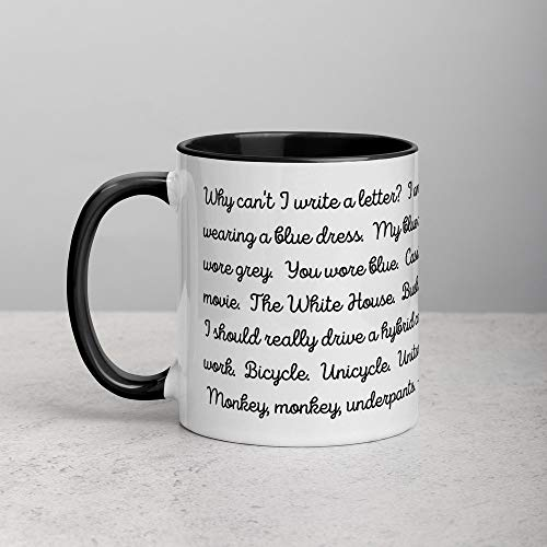 Funny White Coffee Mug, Its 11 11 make a wish spiritual number Ceramic Novelty Cup Ideal Gift 11oz