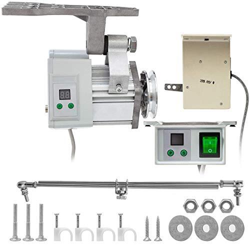 YQGOO 220V 400W Sewing Machine Servo Motor MAX Speed 4500RPM Energy Saving Mute Tie Bar Brushless Servo Motor for Industrial Sewing Machine
