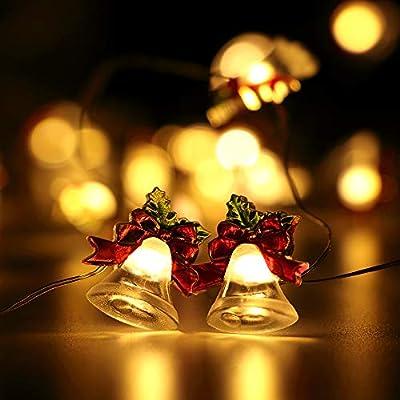 HuTools Christmas String Lights