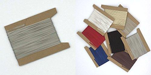 ps FASTFIX 10 m Schnur für Plissees 0,8 mm - 8 Farben - Plisseeschnur - Spannschnur für Plissee hell-grau