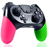 QULLOO Mando para Nintendo Switch, Inalámbrico Switch Mando Pro con NFC, Turbo, Vibración Dual, Gyro Axis, Gamepad ergonómico Bluetooth Controlador Joypad para Nintendo Switch Pro/Lite