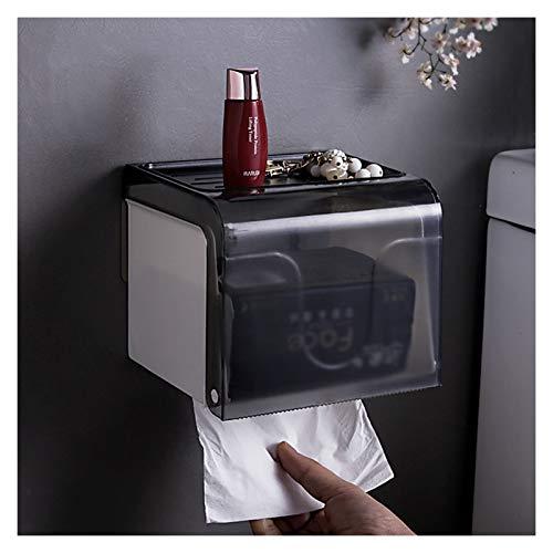 NYKK Caja Pañuelos Caja de Tejido de plástico hogar, Soporte de Tejido con Fuerte Capacidad de Carga para baño, Cocina (sin Golpe) Dispensador Pañuelos