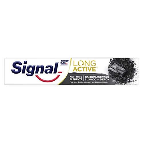Signal Nature Elements Pasta de Dientes Carbón Activado 75ml