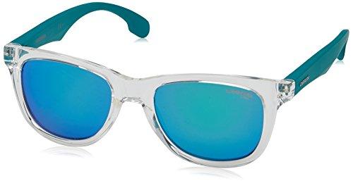 Carrera Junior CARRERINO 20 Z9 FJM Gafas de sol, Azul (MTBLUEE CRYST/GREEN MULTILAYE), 46 Unisex-Niño