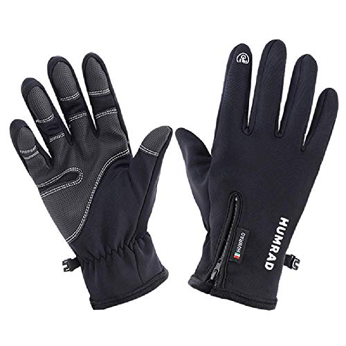U/A esquí al aire libre guantes de equitación de los hombres pantalla...