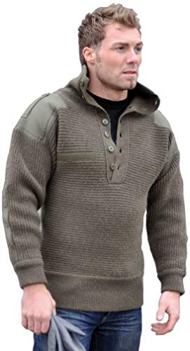 Mil-Tec Oesterr.Alpin Pullover Wolle Oliv Gr.54