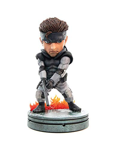 Metal Gear Solid PVC SD Statue Solid Snake, multicolore, 20 cm