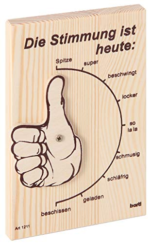 Bartl 101211 Stimmungsbarometer - originelles Zubehör für die Hausbar