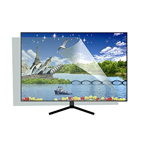 ASPZQ Protector de Pantalla TV Mate 27-75 Pulgadas, Reducir El Reflejo del Deslumbramiento Anti-luz Azul Se Adapta A Pantallas HDTV LCD, LED, 4K OLED Y QLED