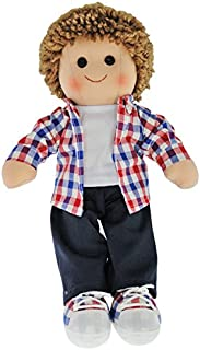 Hopscotch Doll Collectables Jack Soft Bodied Rag Doll Toy 14