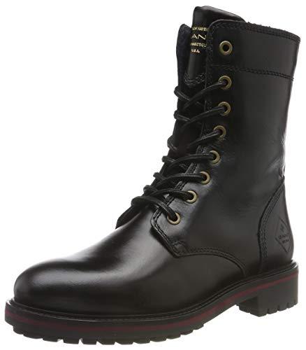 GANT Footwear Damen Natalie Stiefeletten, Schwarz (Black G00), 38 EU