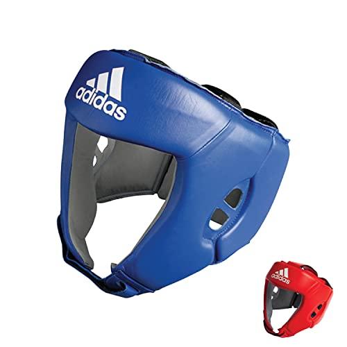 adidas AIBA Boxing Kopfschutz, Blau, M