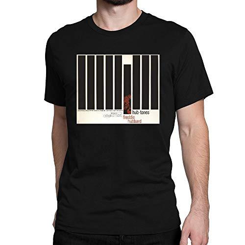 YIHAOWEIYE Herren Classic Freddy Hubbard Hub Tones T-Shirt Tee Tops