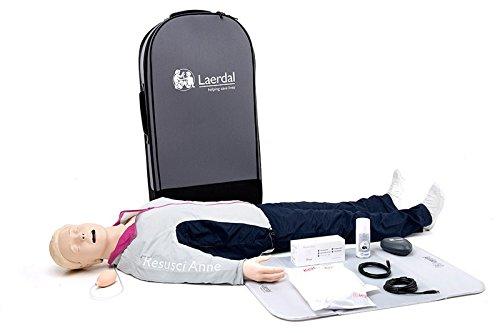 Resucitación Anne qcpr AED cuerpo completo en–Maleta