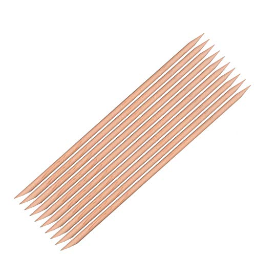 ネイル 最高品質 オレンジウッド スティック (10本)