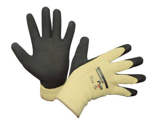 Kerbl 297314 PowerGrab Plus Polyester/Baumwolle Handschuh Größe 10, Latex