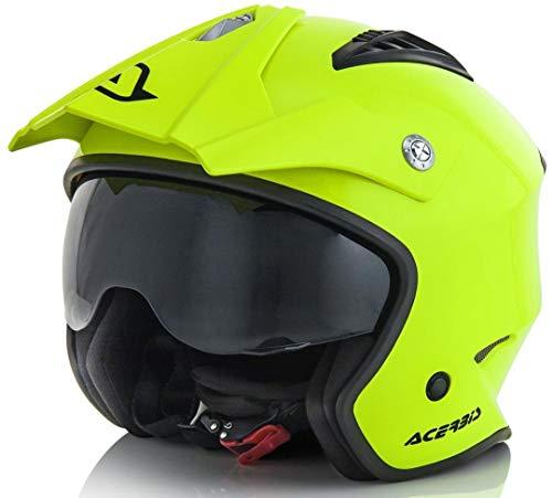 Acerbis casco jet aria giallo 2 l