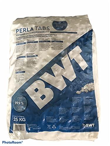 2 x BWT PERLA TABS Regeneriersalz 25 Kg von VMS-Vertriebcenter in Kissenform, keine Scheiben