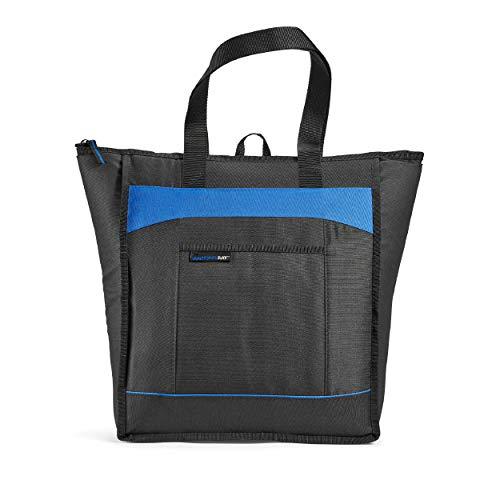 Rachael Ray Chillout Bolsa aislante, bolsa enfriadora para compras de alimentos, transporte de alimentos fríos y calientes, portones...