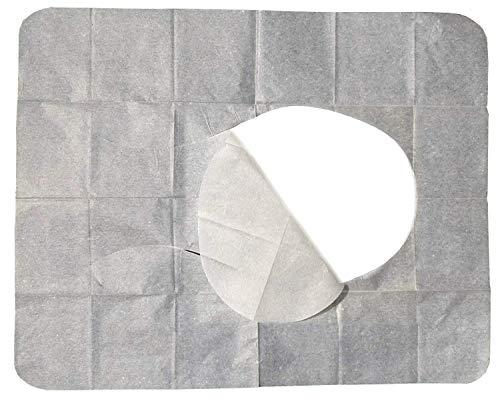C+P 200 WC Hygiene Sitzauflagen - Papierauflagen für Toilettensitz - B-Ware