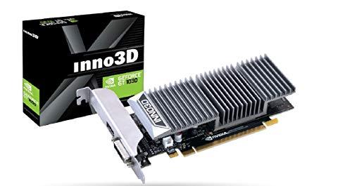 Inno3D N1030-1SDV-E5BL GeForce GT 1030 2GB GDDR5 Grafikkarte (GeForce GT 1030, 2GB GDDR5, 64bit, 4096 x 2160 Pixel, PCI Express 3.0)