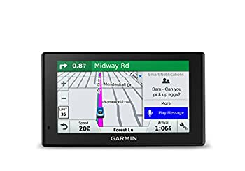 Garmin DriveSmart 51 NA LMT-S with Lifetime Maps/Traffic Live Parking Bluetooth,WiFi Smart Notifications Voice Activation Driver Alerts TripAdvisor Foursquare