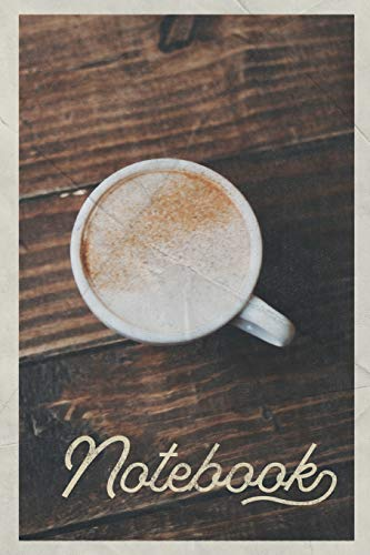 Notebook: Flat White Coffee helpful Composition Book Journal Diary for Men, Women, Teen & Kids Vintage Retro Design for lovers of healthy caffeine drinks