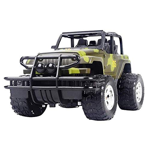 ZCYXQR 2.4 GHz Radio Control 20Km / H RC Cars Offroad 1/18 con Ligh RE Battery Suspensión Independiente Bigfoot Monster Buggy (Regalos de cumpleaños y Vacaciones)