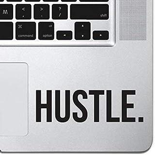 "Hustle Sticker Decal MacBook Pro Air 13"" 15"" 17"" Keyboard Keypad Mousepad Trackpad Laptop Retro Vintage Motivational Text ..."