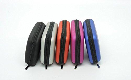 Demarkt 2,5-Zoll Festplattentasche/Tasche/Hardcase Externe Festplattengehäuse,Blau