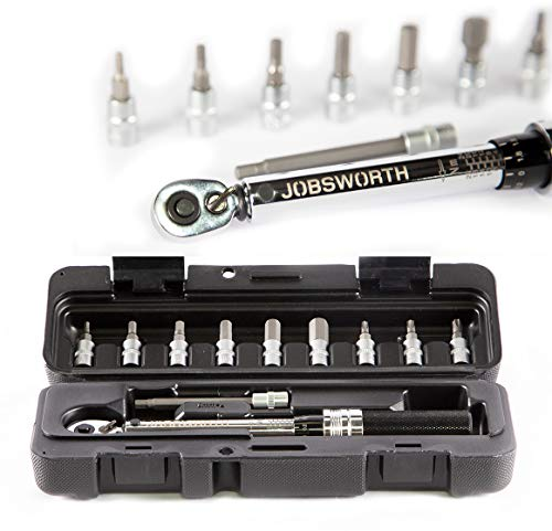 Jobsworth Pro Torque Wrench Set - Bicycle Maintenance Kit for Road & Mountain Bikes