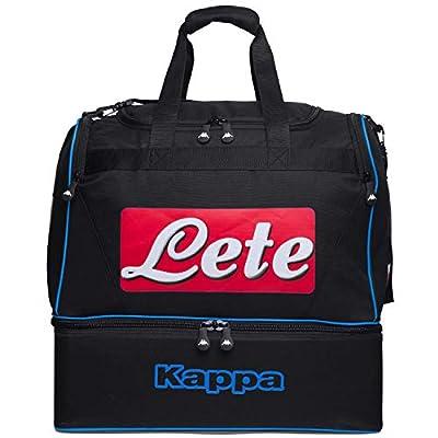 Ssc Napoli Italian Serie A False Bottom Kit Bag, Black, L