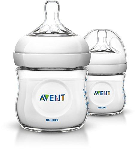 Avent Natural Biberon, 2 Pezzi, 125 ml, 0+ Mesi