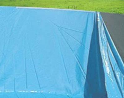 Mendler Pool-Innenhülle Innenplane Schwimmbadfolie, Stärke 0,5mm - Ø 4,57m x 1,32m