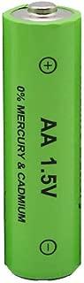 عبوة من 10 بطاريات AA 1.5V 3000 مللي أمبير قابلة لإعادة الشحن من Amaae® لمصباح كشاف كشاف كشاف كشاف كشاف كشاف (أخضر، ليثيوم)