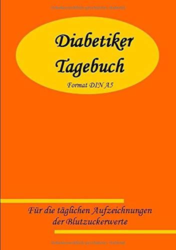 Diabetiker Tagebuch DIN A5