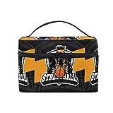 かわいいゴリラエイプバスケットボール メイクバッグ 旅行 メイクボックス バッグ トイレタリー トレイン ケース レディース 美容 化粧ポーチ ポーチ