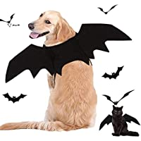 Fasafsaf Bat Wings Halloween Pet Costume